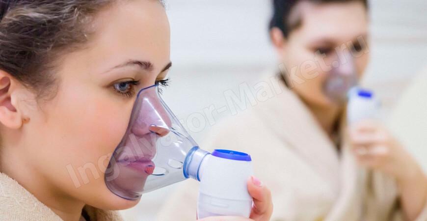 Как правильно дышать ингалятором: носом или ртом